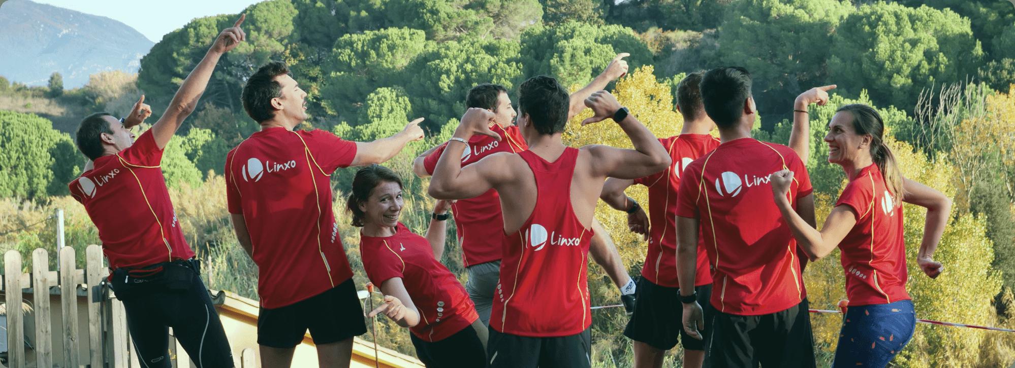 Linxo compte des passionnés de sport qui n'hésitent pas à faire l'effort pour des événements